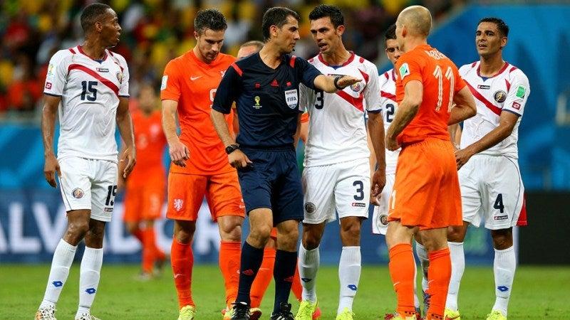 ブラジルワールドカップ W杯 準々決勝 オランダ コスタリカ ベスト4 延長 PK戦