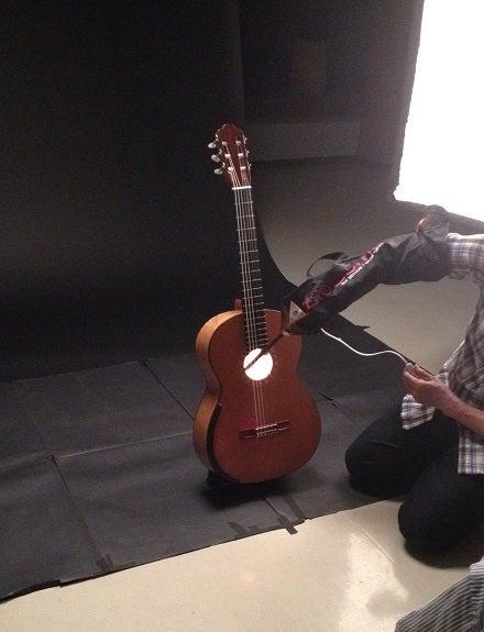 愛器を語る朝倉ギター撮影