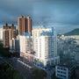 ある中国の都市の風景