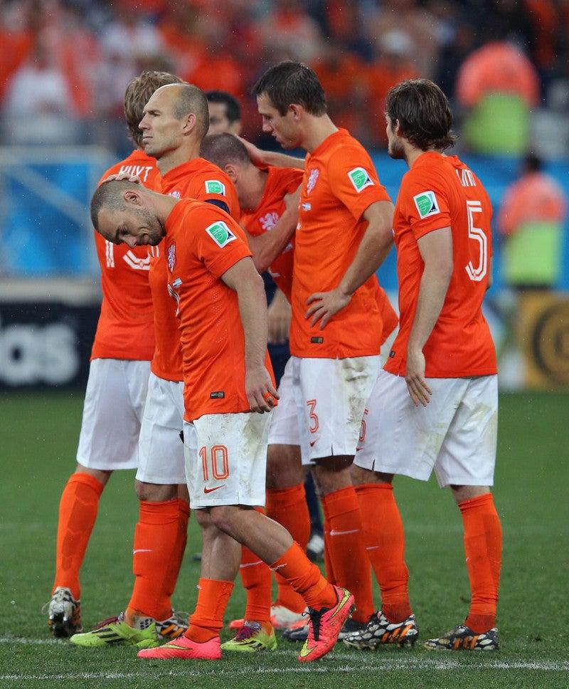 オランダ ブラジルワールドカップ W杯 決勝 3位決定戦