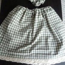 夏用のスカート