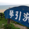 琴引浜へ行って来ましたの画像