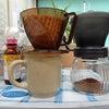 朝の1杯のコーヒーの画像