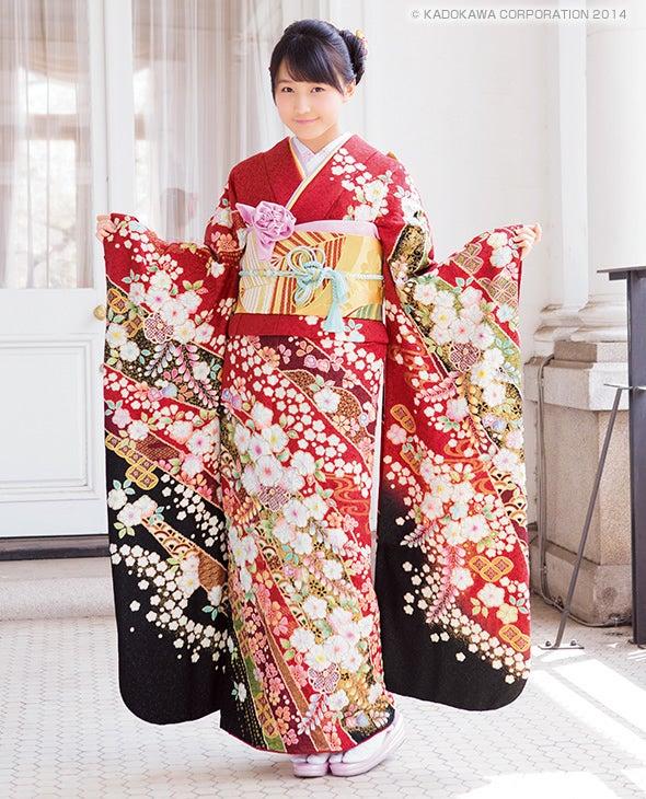KimonoWalker 鞘師里保