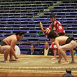 前相撲が始まりました