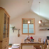 無垢のキッチンの画像