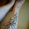 ヘナアート(ヘナタトゥー)の変化していくところが楽しみの一つじゃねの画像