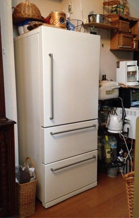 無印良品の冷蔵庫 | 身に纏う日々のお洋服に物語を〜ホーフガルテンのブログ〜