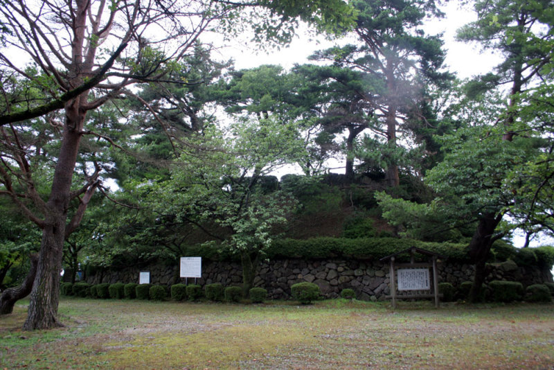 宮崎城③/本丸の石垣