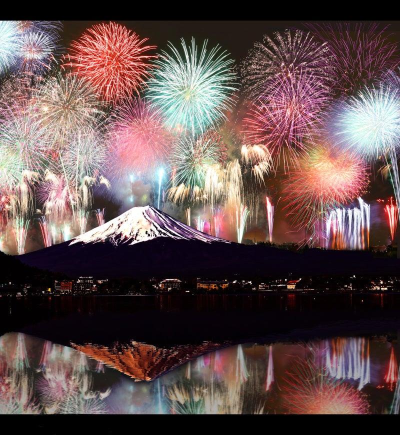 花火 富士山