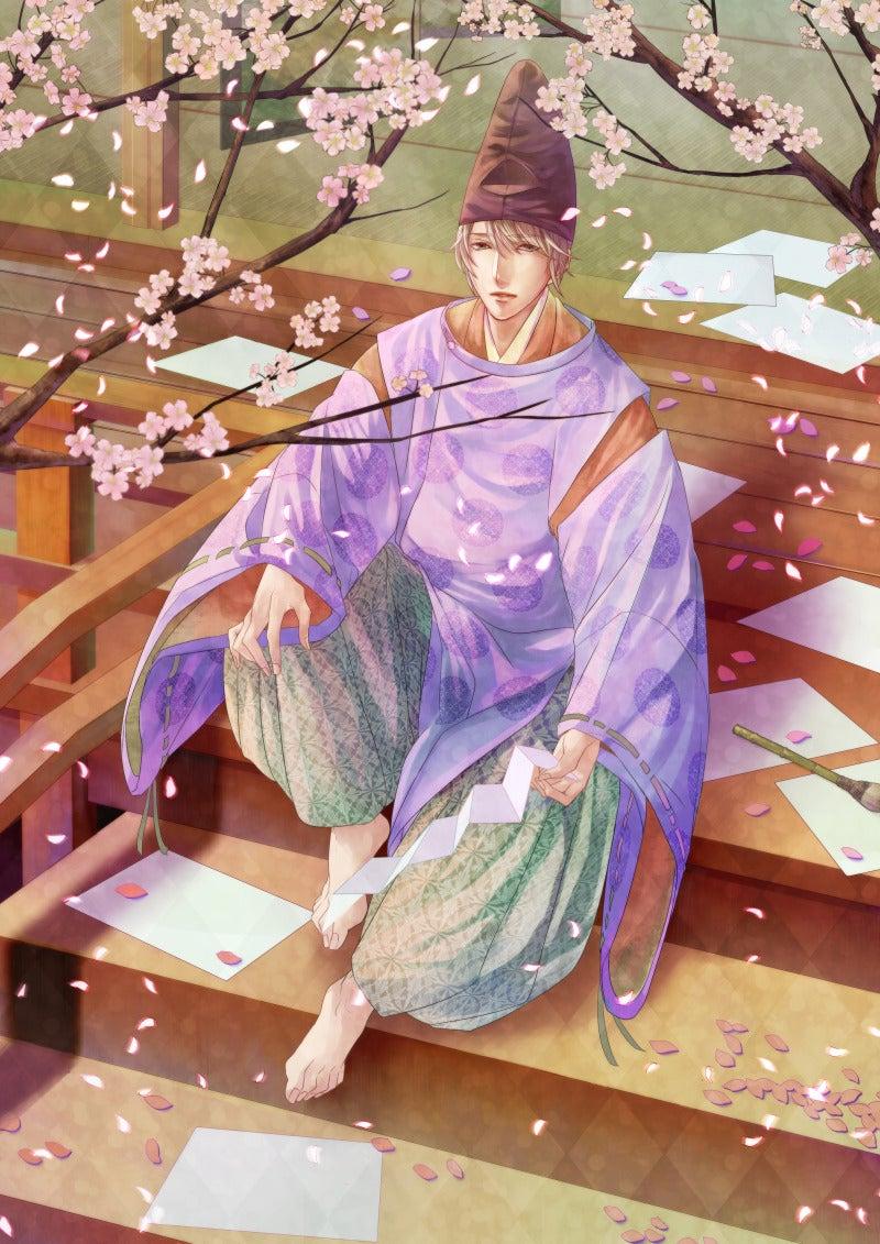 イラスト平安時代の恋文って儚いイメージです 八坂千鳥の活動日記
