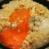ワタリガニの炊き込みご飯の画像