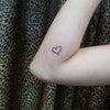 刺青★Heart(肘)ワンポイント!の画像