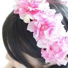 フラワークラウン~花冠~カチューシャタイプ♪の記事より