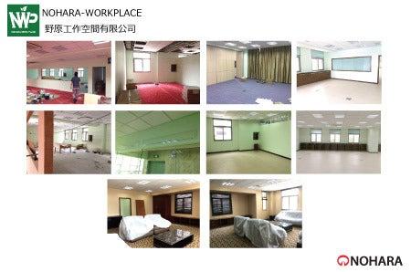 中国、上海オフィス内装大型01