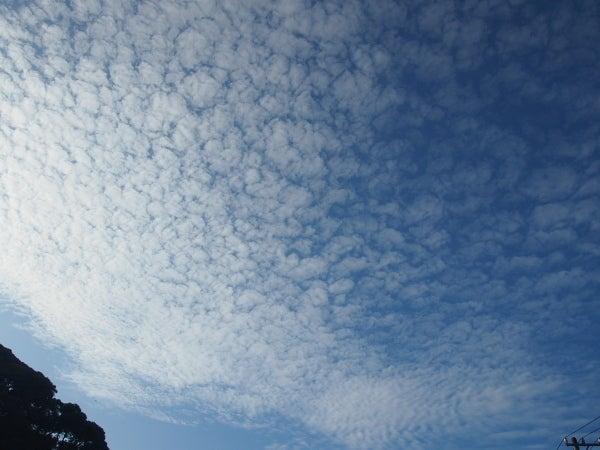 今日の雲 高積雲 かなとこ雲 | C...