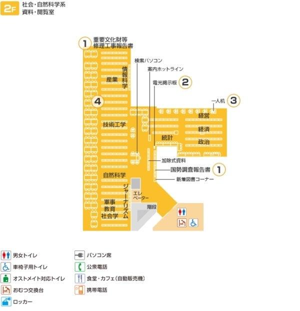 フロア図2階