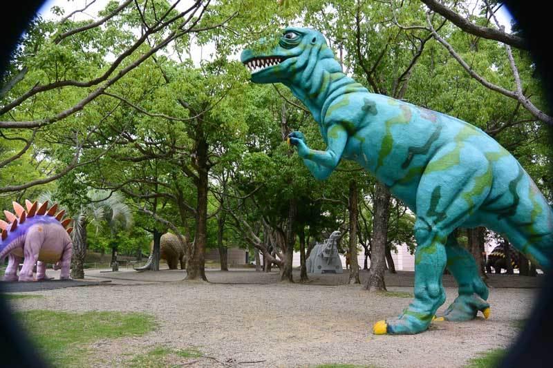 2014,07,03 恐竜の実物大ジオラマ@のんほいパーク|Danner Walker (ダナーウォーカー)