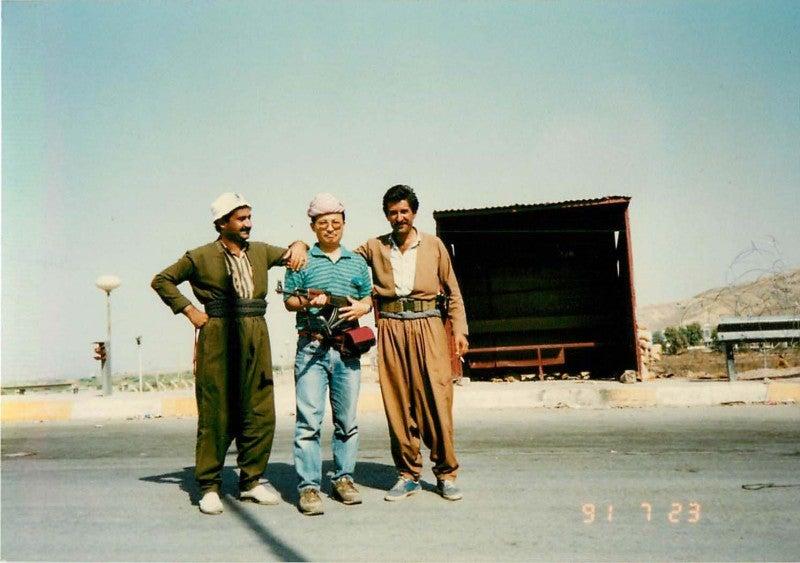 イラク・トルコ国境にて