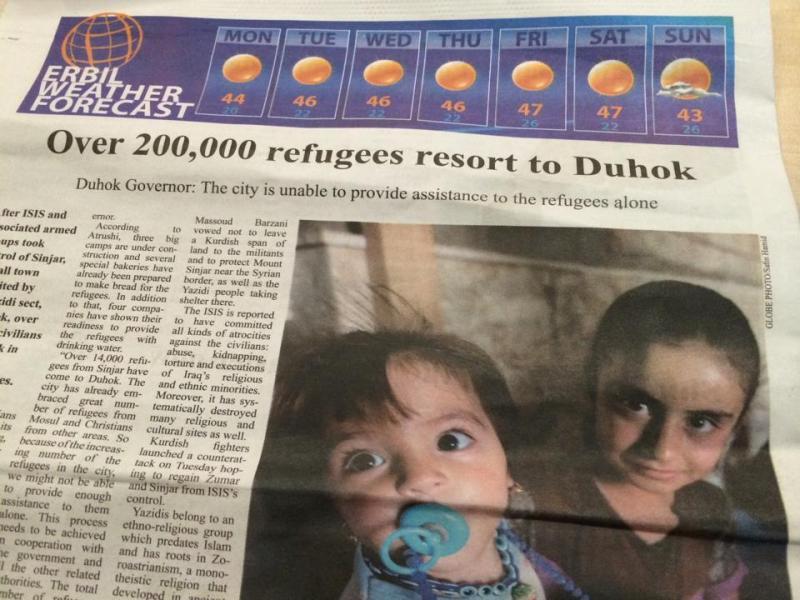 20万人以上の避難民