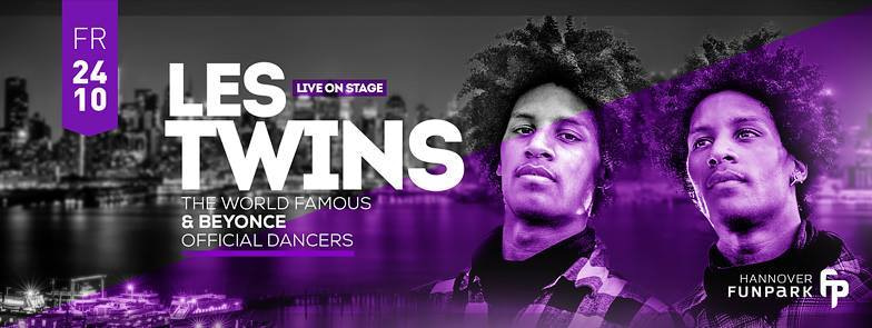 LES TWINS : Live Show @ Funpark Hannover! de | love it
