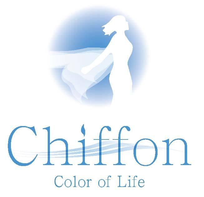 シフォン Color of Life ロゴ New