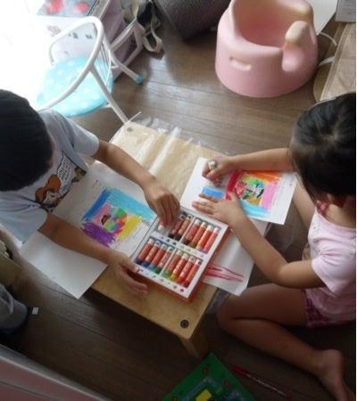 色育塗り絵 小学生