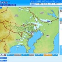 降雨情報~~東京アメ…