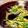水茄子の漬物風サラダの画像