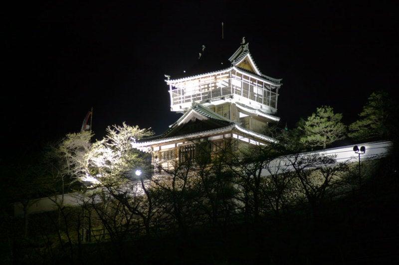 神岡城/⑤ライトアップ