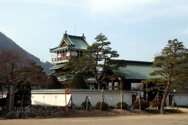 神岡城/②門と模擬天守