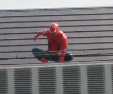 スパイダーマン正面