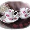 ポーセラーツ『花弁のカップ&ソーサー』の画像