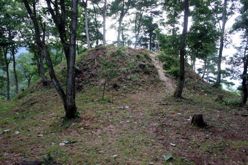 小島城/④主郭の物見台