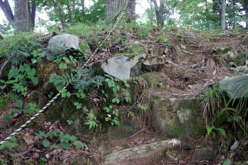 小島城/⑦石垣の跡?