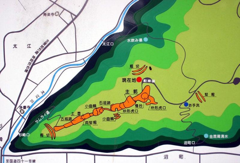 小島城/②案内図