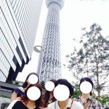 東京へ行ったんょ