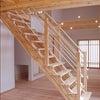 オーダーメイド木製階段Ⅰ 亀岡市旭町 Kさま邸の画像