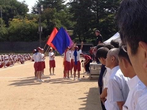 辰口中学校で運動会   代表北出...