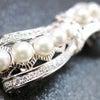 ■銀製帯留|アコヤパールを贅沢に使用した華やかな帯留。訪問着、結婚式、パーティーなどにお勧め。の画像