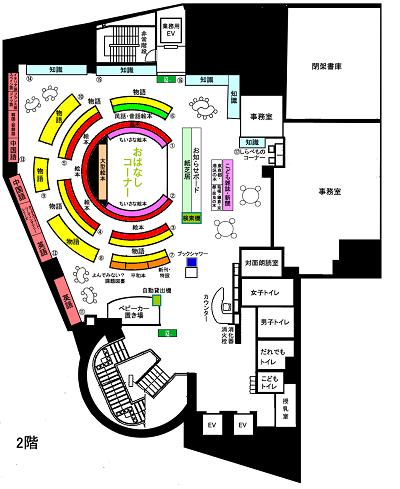 フロア図2階②