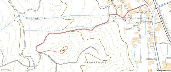 二日町城/地図
