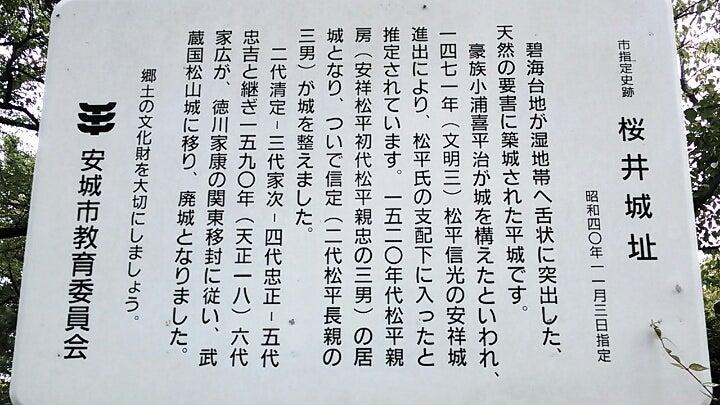 桜井城【三河】 | 第六天魔王の...