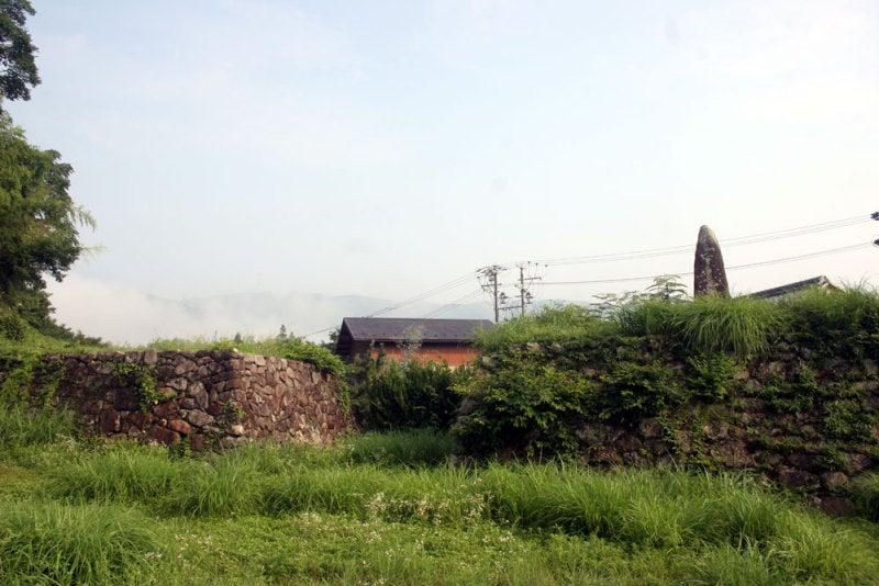 西高木家陣屋/③門跡