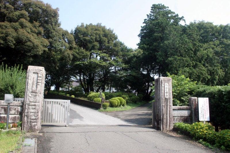 駒野城/城山小学校正門