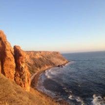カリフォルニアの海