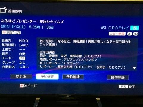 TV放送【 花咲かタイムズ ーCBC...