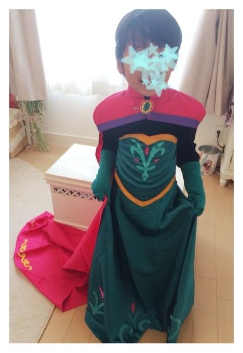 アナ雪♡エルサ戴冠式のドレス。