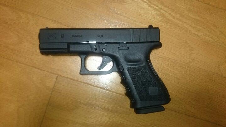 vfc glock 19 3rdジェネレーションタイプ ブラックフレーム タコアシ