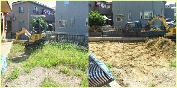 静岡県湖西市K様邸 お庭を芝生に|有限会社ノズコン